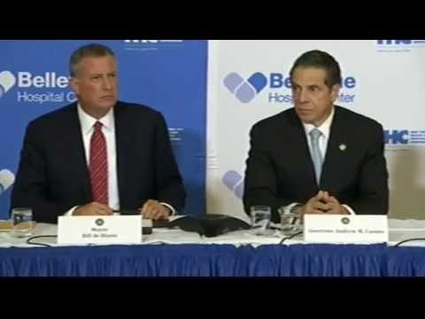 Press conference for doctor in NYC said to have Ebola