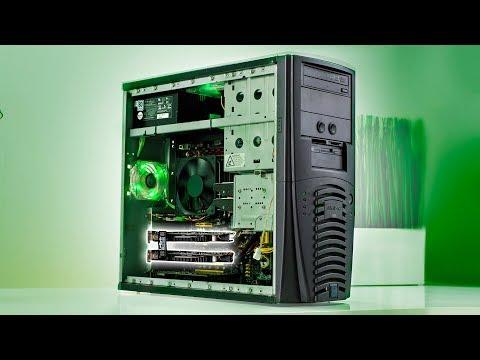 nVidia's FIRST SLI Gaming Setup! - RECONSTRUCTED (видео)