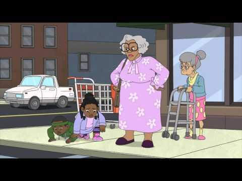 TYLER PERRY'S MADEA'S TOUGH LOVE CLIP (2015) - Animated Madea Movie! | Rotoscopers