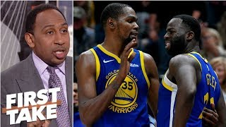 Draymond questioned Kevin Durant's 'commitment' to Warriors - Stephen A. | First Take