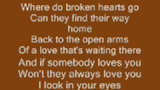 Video Where Do Broken Hearts Go ~Whitney Houston MP3, 3GP, MP4, WEBM, AVI, FLV Juli 2018