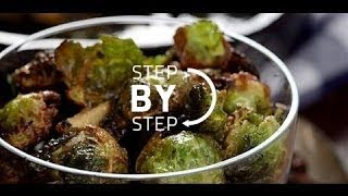 http://thrillbillygourmet.com/ for the website, and http://goo.gl/E960dK for the Happier Holidays Cookbook! Roasted Brussels...