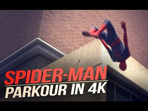 The Amazing SpiderMan Parkour