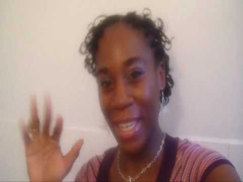 BOX BRAIDS how to curl and style Kharyzma's Natural Hair