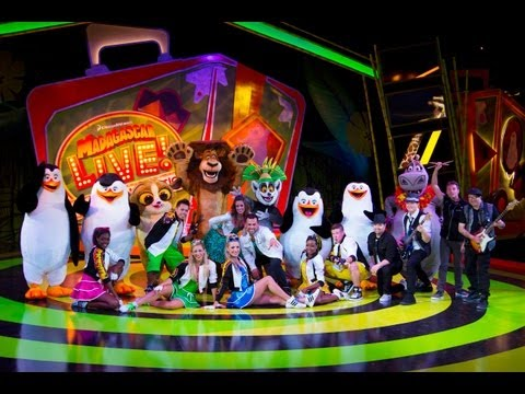 vacation - Singers, dancers and a live band join the Madagascar characters as they help Gloria get into the vacation spirit in this new show at Busch Gardens Tampa. Her...