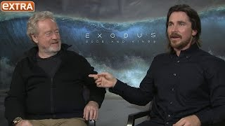 Christian Bale's Thoughts on Moses, Turning Down the Role of Steve Jobs