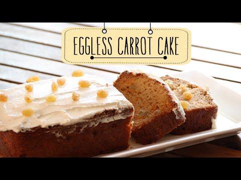 Eggless Carrot Cake | Quick & Easy Dessert Cake Recipe | Beat Batter Bake With Priyanka