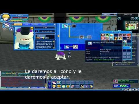 Como montar en Digimon Master