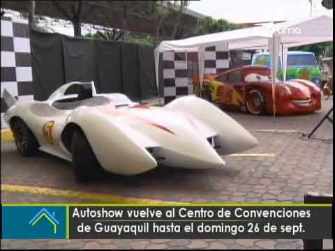 Autoshow vuelve al centro de convenciones de Guayaquil hasta el domingo 26 de sept.
