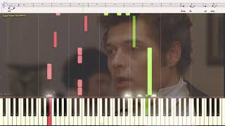 Я тебе не буду писать - Шевченко Александр (Ноты и Видеоурок для фортепиано) (piano cover)