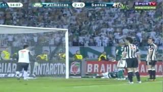 Palmeiras 3x0 Santos F.C. - 10.07.2011 - Brasileirão - Pacaembu-SP.