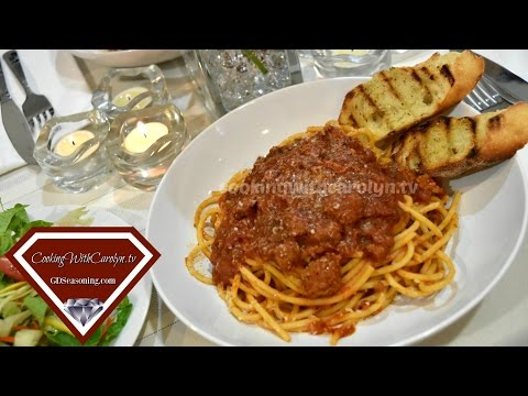Slow Cooker Italian Sausage Ragu with Bucatini Pasta Recipe |Easy Date Night Dinner for Two