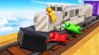 Video HOLD ON TO THE 250MPH TRAIN! (Gang Beasts) MP3, 3GP, MP4, WEBM, AVI, FLV Agustus 2018
