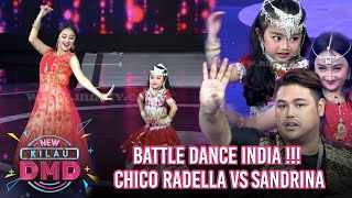 WOW Battle Dance India Chico Radella & Sandrina! Semua Juri Ikut Goyang - Kilau DMD (19/2)