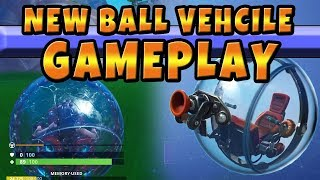 The New Baller Vehicle Item In Fortnite Gameplay And Interactions with Other Items