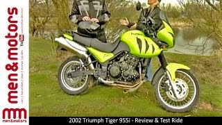 3. 2002 Triumph Tiger 955i - Review & Test Ride
