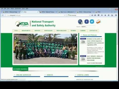 PSV FOR CONDUCTORS AND DRIVERS ON NTSA ONLINE (видео)