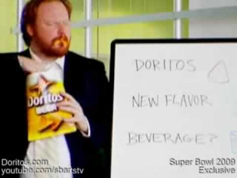 Super Bowl XLIII Commercial Doritos Beer Ad Funny Exclusive New Flavor Pitch