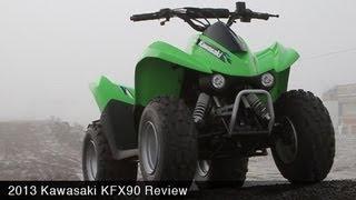 1. MotoUSA 2013 Kids ATV Shootout - Kawasaki KFX90