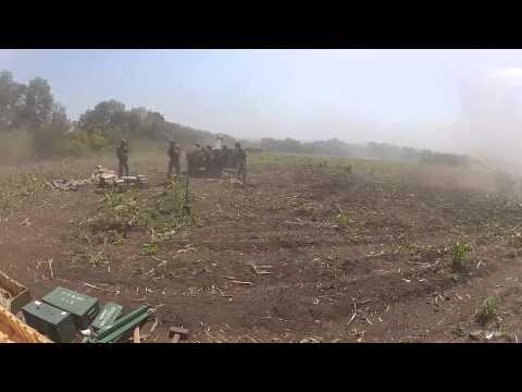 Українська артилерія обстрілює позиції бойовиків
