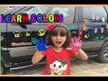Download Lagu PINTEI O CARRO DO PAPAI- LEARN COLORS - Aprendendo as Cores Mp3 Free