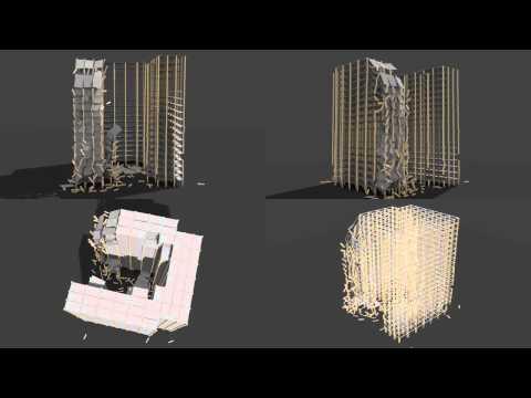 Blender Physics Gerüstbau Test