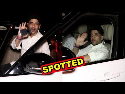 Tusshar Kapoor Spotted At Restaurant