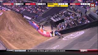 X Games 17:  Dany Torres Wins Moto X Freestyle Bronze
