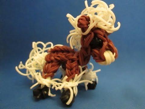 Как сделать лошадь из резинок видео без станка