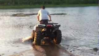 8. Arctic Cat Mud Pro 1000 Pond