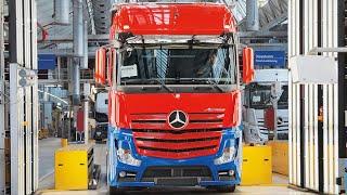 Video 🔴 Mercedes Actros Production MP3, 3GP, MP4, WEBM, AVI, FLV Juli 2018