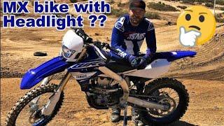 5. Can Yamaha WR450F handle Motocross Track??