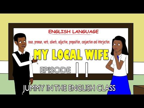 My Local Wife 11 - Jummy in the English Class