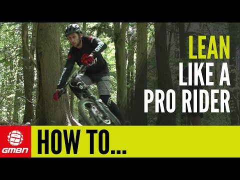 How to Lean while cornering