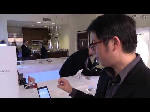 CES 2014 Asus ZenFone 4,5,6 & PadFone Mini