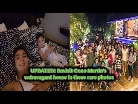 UPDATED! Revisit Coco Martin's Extravagant House In These Rare Photos!