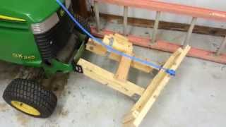 Built this plow for about $12.   No snow yet so cant show it in action.  I now have video showing it in action.