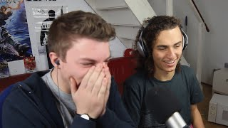 REACTING TO FIRST VIDEO! w/ Kwebbelkop