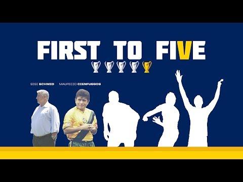 Video: #FirstToFive: Don't miss LA Galaxy legend Mauricio Cienfuegos on Saturday