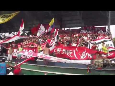 LOS DEMONIOS ROJOS en Pto. Ayacucho l Tucanes FC Vs CARACAS FC l TC2014 l 23-03-2014 - Los Demonios Rojos - Caracas
