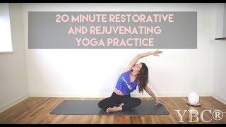 Video 20 Minute Restorative and Rejuvenating Yoga Practice MP3, 3GP, MP4, WEBM, AVI, FLV Maret 2018