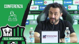 Sassuolo, De Zerbi alla vigilia del match contro la Juventus