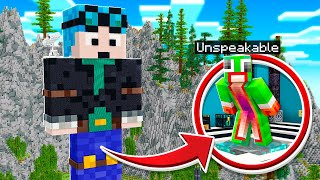 SNEAKING Into DanTDMs SECRET Minecraft House!