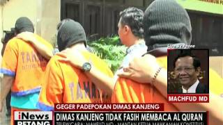 Live By Phone : Mahfud MD, Geger Padepokan Dimas Kanjeng - INews Petang 29/09