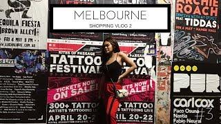 Video #3 Melbourne Shopping Vlog + Haul | SHAFAHARRIS MP3, 3GP, MP4, WEBM, AVI, FLV November 2018