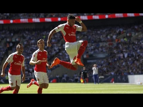 Arsenal Vs Reading 2 0 Highlights And All GOALS  #Chamberlain 2 Goals (10/26/16)