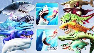 Video Hungry Shark Evolution vs World - All Sharks Info (Drago) MP3, 3GP, MP4, WEBM, AVI, FLV Juni 2017