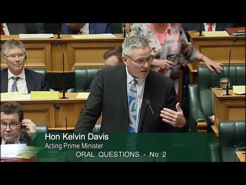 Question 2 - Bill English to the Acting Prime Minister