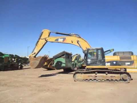 CATERPILLAR EXCAVADORAS DE CADENAS 336DL equipment video qKuOkWs2vSo