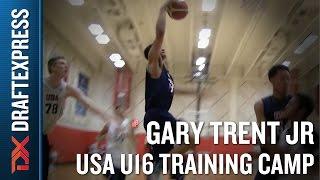 Gary Trent Jr 2015 USA U16 Training Camp Footage - DraftExpress